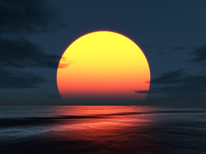 شروق الشمس من المغرب (قيام الساعة)