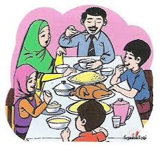 الافطار مع الأسرة في رمضان