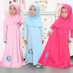 ملابس الصلاة للفتيات