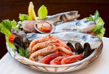 المأكولات البحرية وحيوانات البر المباحة أكلها