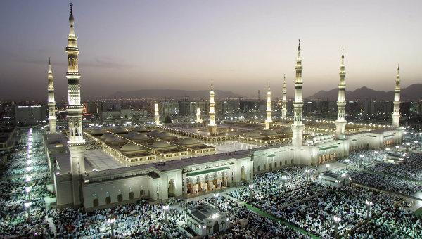 La mezquita del Profeta en Ramadán