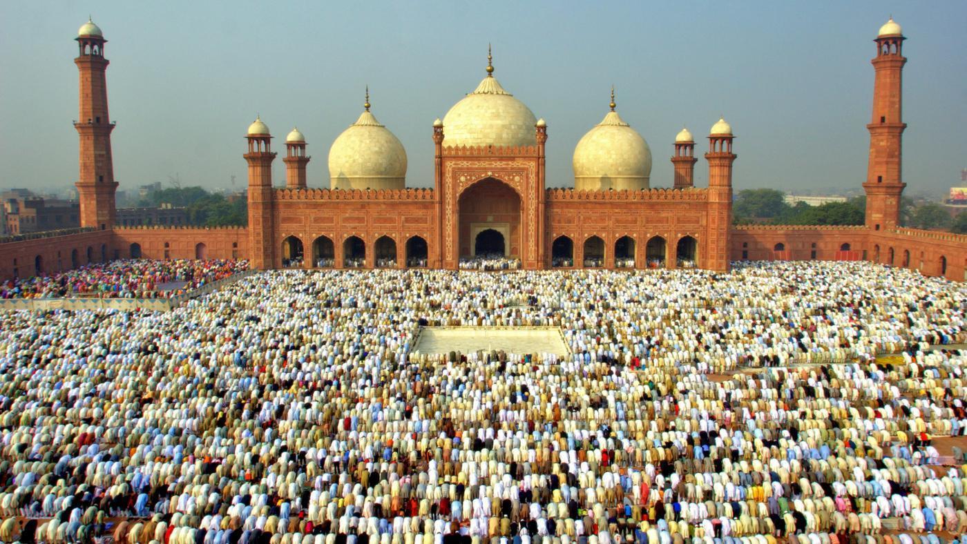 En el Eid al Fitr la felicidad y el júbilo de esta celebración es compartida por todos