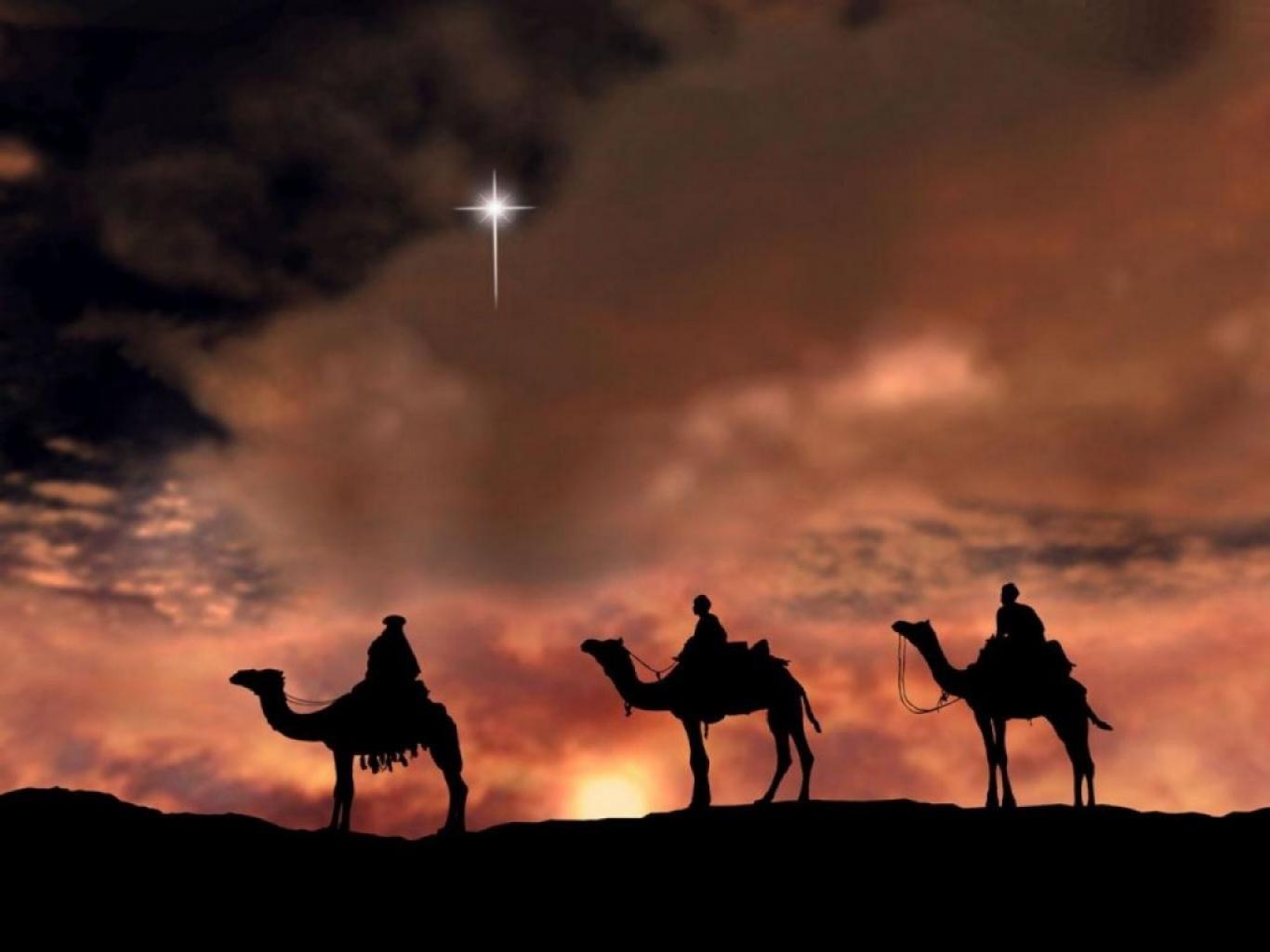 La historia de los tres reyes magos también está reflejada en la tradición islámica, aunque no en el Corán o los Hadith