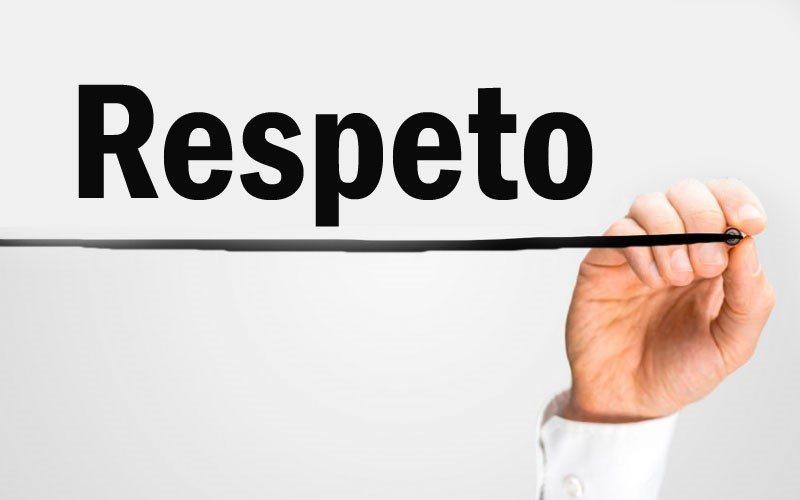 El respeto a los demás empieza por el respeto a uno mismo, y el respeto a uno mismo por el respeto debido a Dios