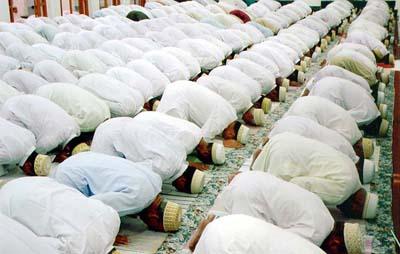 मस्जिदको सिष्टाचार