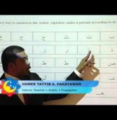Ang Alpabetong Arabik (video)