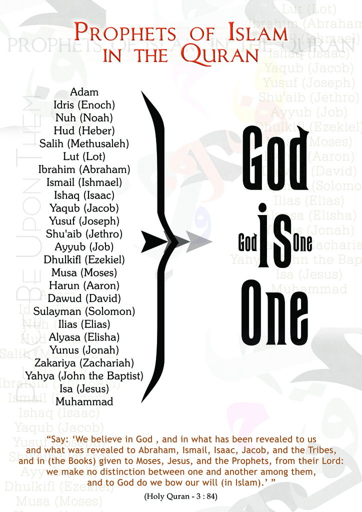 God is one God