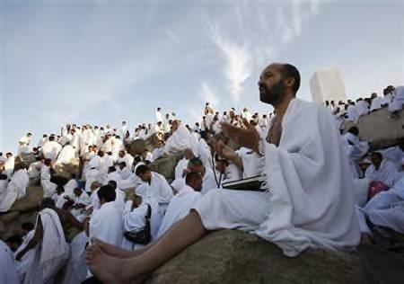 Hajj is declared by all experts to be the most diverse gathering in the world. Yet all the people there are united in their actions and goals. Each person performs the same procedures to complete their Hajj. All the people dress alike, men are to wear two pieces of unstitched white cloth...