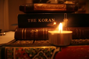 quran and bible 300x200 Could the Quran Be a Copy of the Bible?