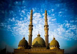 Muslims in the past and even today have made use of local artisans and architects to create beautiful, magnificent mosques.