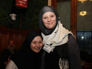 'Thanks to my mother who took me to conferences and meetings I came to know Islam.'