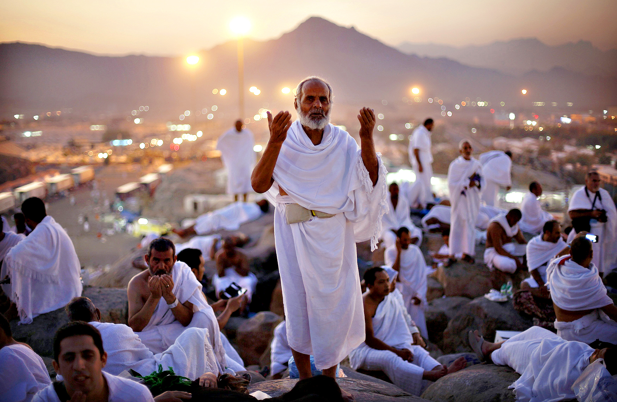 Millions of Muslims converge yearly to Saudi Arabia to perform the annual Hajj, one of the world's biggest displays of mass religious peaceful devotion. Hundreds of thousands of pilgrims have started to leave the Kingdom after peacefully performing the journey rituals.