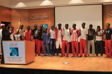 During a training camp in the Gulf country Islam touched the hearts of all the members of this football team, resulting in newcomers to the faith. Learn more…