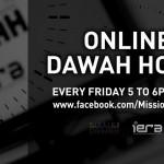 Online Da`wah Hour: Don't Miss