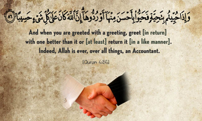 Greeting in Islam