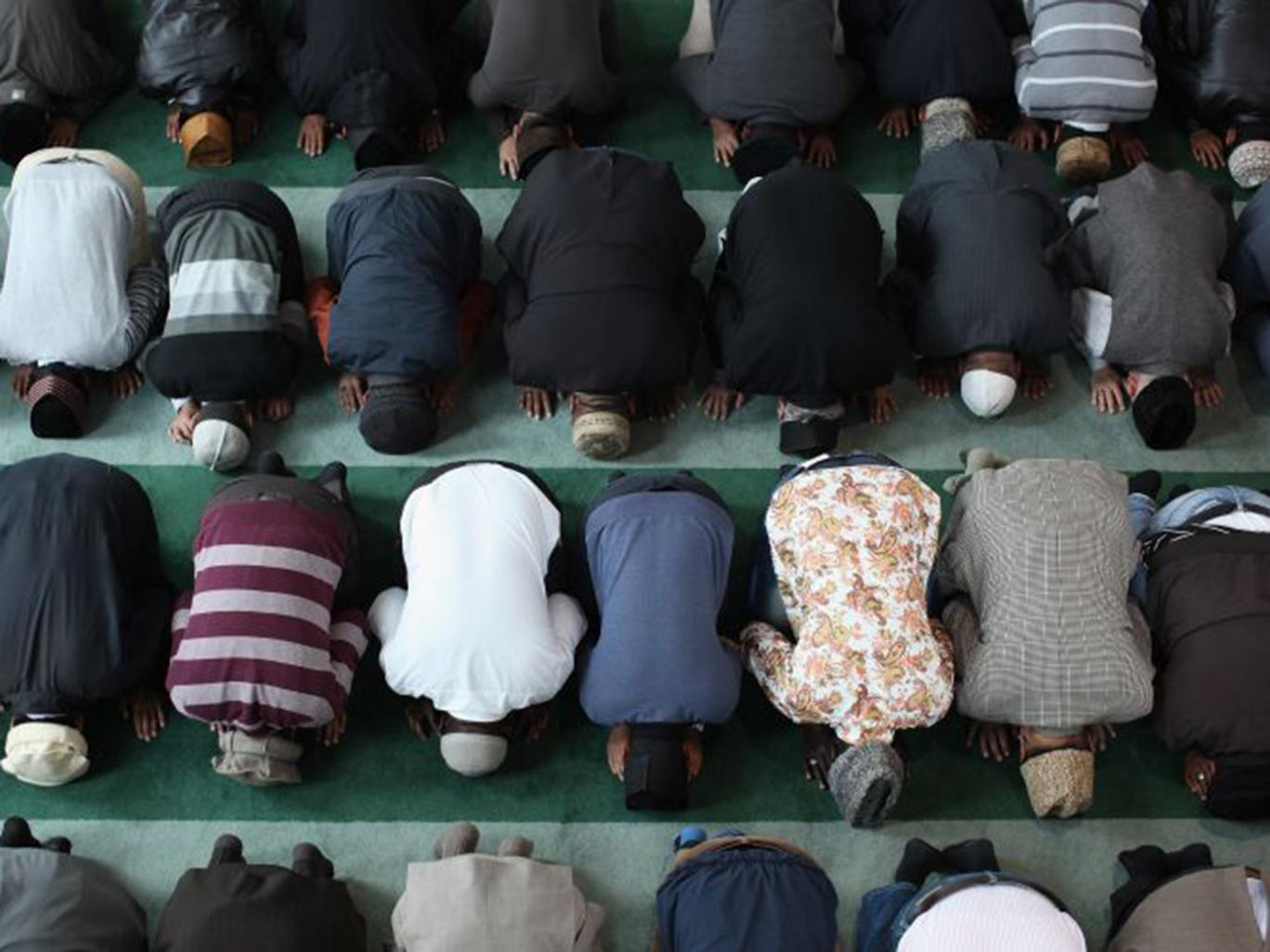Muslims Prayer