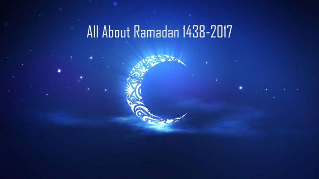 All About Ramadan 1438-2017