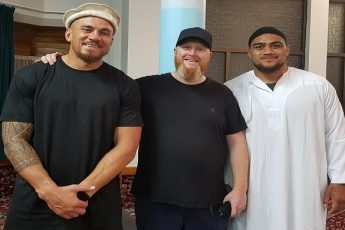 New Zealand Rugby Player Ofa Tu'ungafasi Converts to Islam