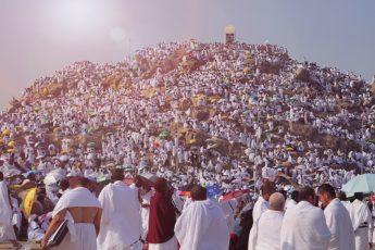 Rites of Tarwiyah and 'Arafah Days