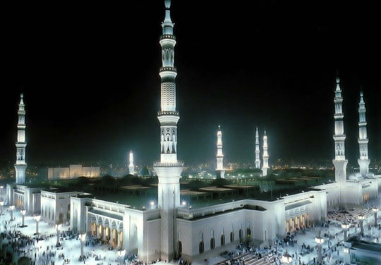 the prophet's mosque in madina