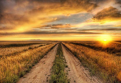 Quest for God, sunrise