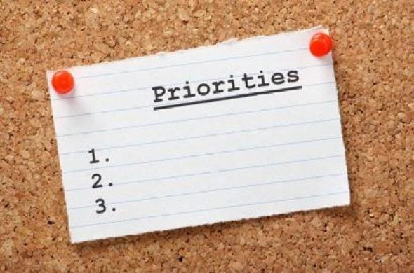 Keeping Priorities Straight: 24th Stop of Your Spiritual Journey to God